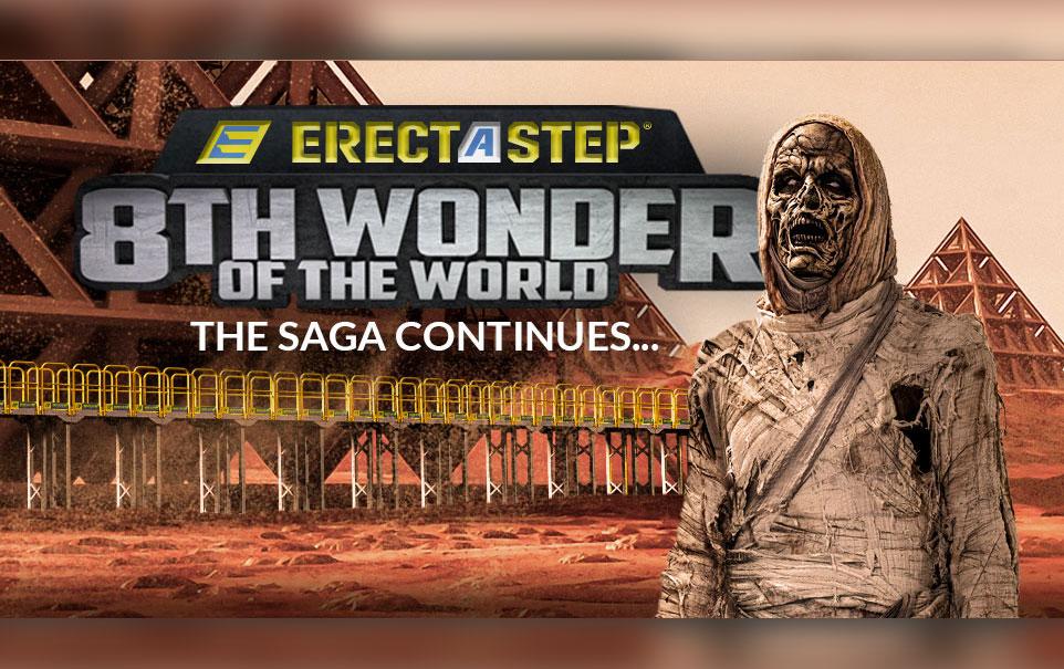 ErectaStep - The 8th Wonder of the World saga continues thumb